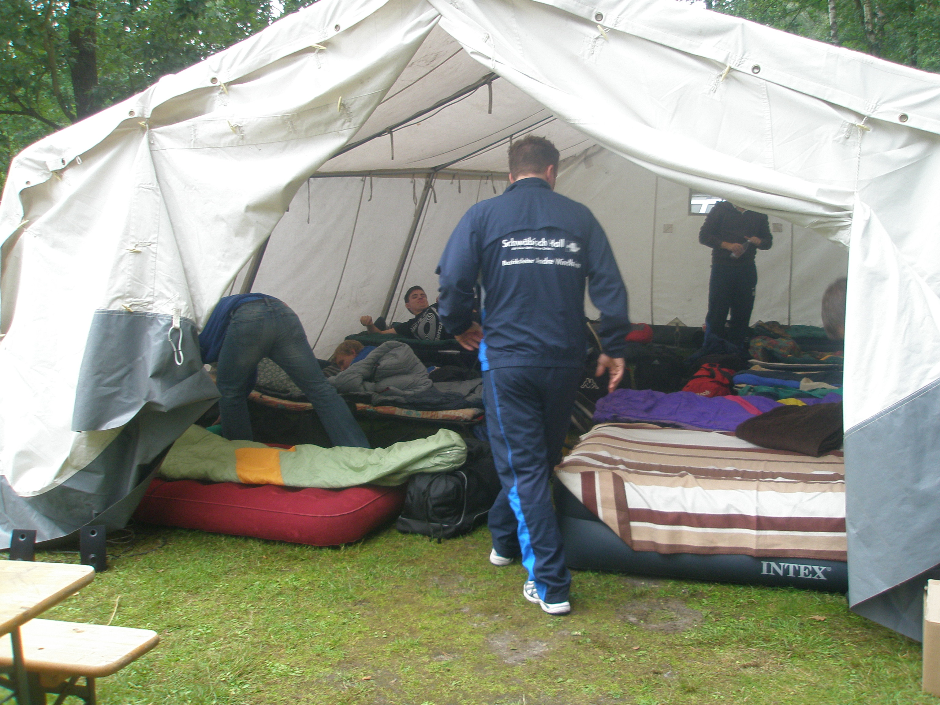 Trainingslager in Mardorf